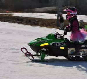 Drag racing at Alyeska 2014