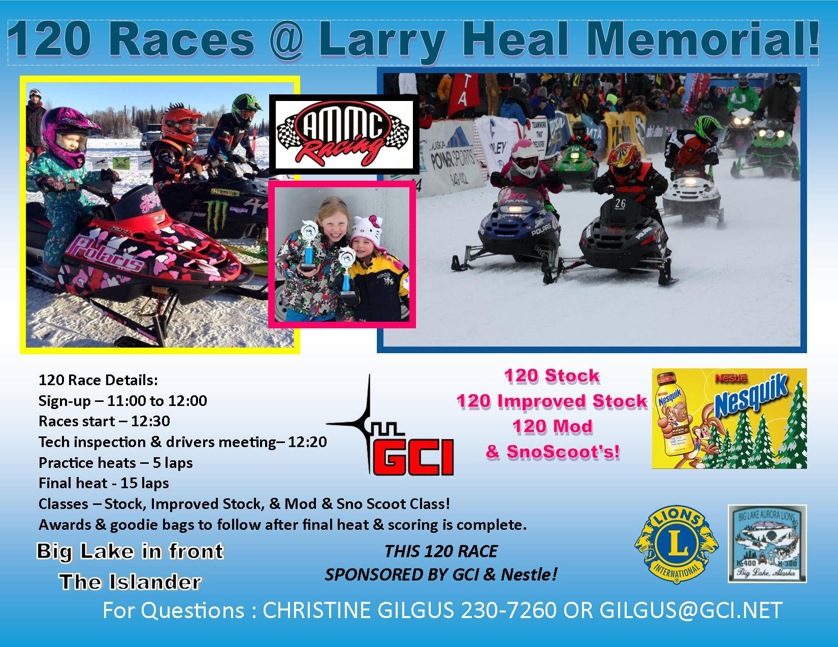 LARRY HEAL KIDS RACE