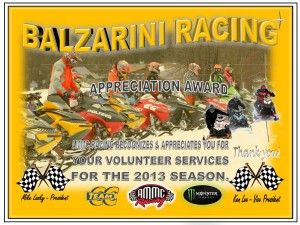 Volunteer BALZARINI RACING