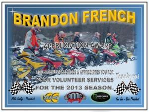 Volunteer BRANDON FRENCH
