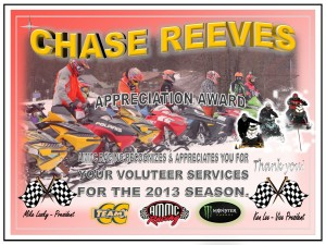 Volunteer CHASE REEVES