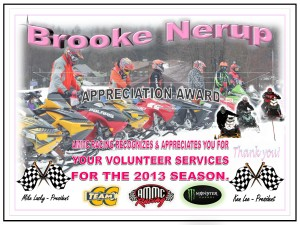 volunteer Brooke Nerup