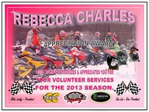 volunteer REBECCA cHARLES
